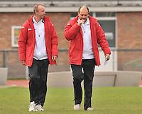 SK Spermalie  : Johnny Van Mullem (rechts) en Stefaan Vanwelsenaers.foto VDB / BART VANDENBROUCKE