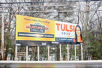 Tulsi Gabbard - Billboard - Merrimack NH - 6 Feb 2020