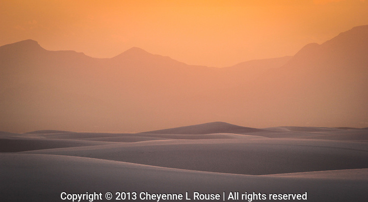 Pastel Dunes - New Mexico - White Sands National Monument