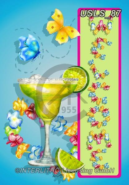 Lori, STILL LIFE STILLEBEN, NATURALEZA MORTA, paintings+++++1-MargaritaWelcome,USLS87,#i#, EVERYDAY,cocktails