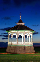 Gazebo, Ocean Park, Oak Bluffs, Martha's Vineyard, Massachusetts, USA