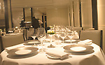 Interior, Gordon Ramsey Restaurant, Chelsea, London, Great Britain, Europe