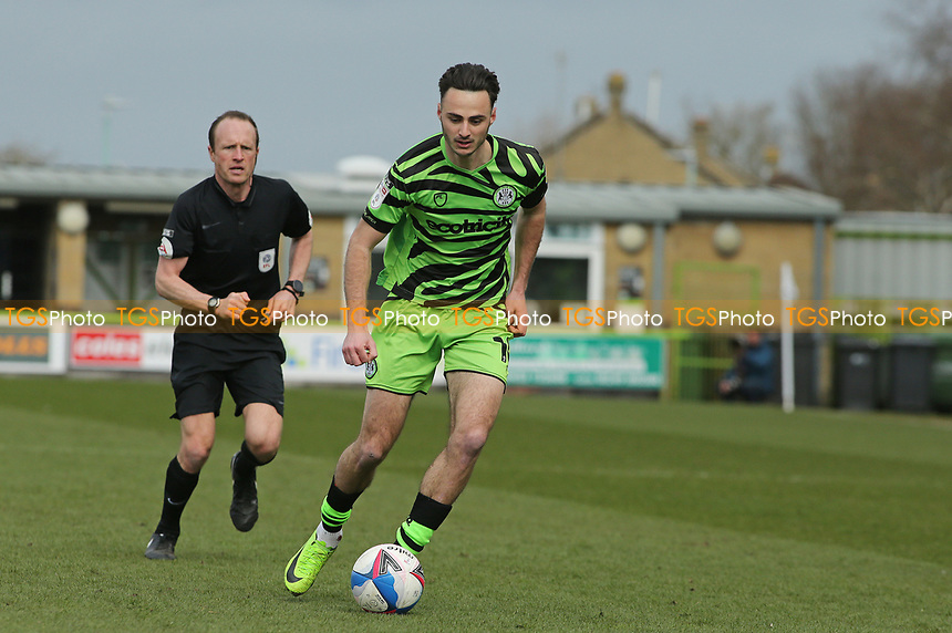 Forest Green Rovers's Aaron Collins during Forest Green Rovers vs Bolton Wanderers, Sky Bet EFL League 2 Football at The New Lawn on 27th March 2021