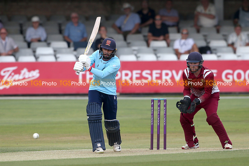 Aron Nijjar in batting action for Essex during Essex Eagles vs Cambridgeshire CCC, Domestic One-Day Cricket Match at The Cloudfm County Ground on 20th July 2021