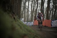 Laurens Sweeck (BEL/ERA-Murprotec)<br /> <br /> Grand Prix Adrie van der Poel, Hoogerheide 2016<br /> UCI CX World Cup
