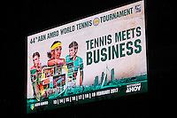 Rotterdam, Netherlands,18 October 2016,, Ahoy, Tennis meets Business, <br /> Photo: Henk Koster