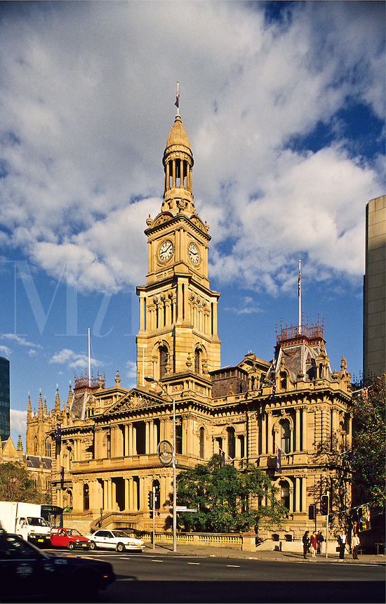Australia. Sydney Town Hall.