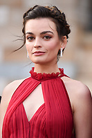 """Emma Mackey<br /> arriving for the world premiere of """"Our Planet"""" at the Natural History Museum, London<br /> <br /> ©Ash Knotek  D3491  04/04/2019"""