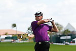 PALM BEACH GARDENS, FL. - Robert Allenby hits from the fairway during Round Two play at the 2009 Honda Classic - PGA National Resort and Spa in Palm Beach Gardens, FL. on March 6, 2009.