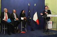 Jean-vincent PlacÈ,Myriam El Khomri,Christian Eckert - Clarification sur le bulletin de salaire - Paris, France - 20/02/2017