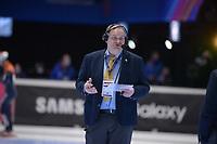 SPEEDSKATING: DORDRECHT: 07-03-2021, ISU World Short Track Speedskating Championships, Gialt Biesma (ISU Referee), ©photo Martin de Jong