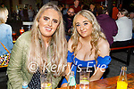 Enjoying the evening in Scotts Hotel in Killarney on Saturday, l to r: Shauna Kennelly and Enya O'Donnell from Killarney.