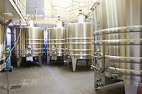 stainless steel tanks ch gd barrail lamarzelle figeac saint emilion bordeaux france