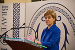First Minister Nicola Sturgeon hosts the Brave@Heart Awards in the Great Hall, Edinburgh Castle<br /> Pic Kenny Smith, Kenny Smith Photography<br /> 6 Bluebell Grove, Kelty, Fife, KY4 0GX <br /> Tel 07809 450119,