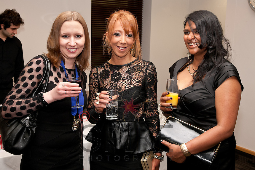 Pictured from left are Lisa Shawbrook, Rachel Harvey and Naomi De Silva