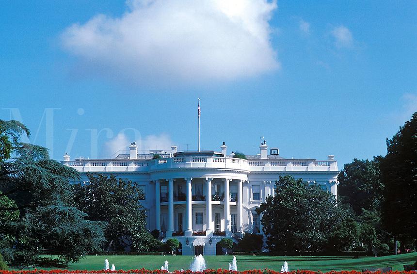 The White House, 1600 Pennsylvania Avenue, Washington, DC, Presidents, home, government, America, 07-3080. Washington District of Columbia United States White House.