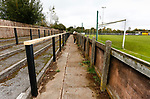 The terraces at Watnall Road. Hucknall Town v Heanor Town, 17th October 2020, at the Watnall Road Ground, East Midlands Counties League. Photo by Paul Thompson.