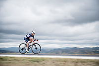 Kenny Elissonde (FRA/Trek-Segafredo)<br /> <br /> Men's Elite Road Race from Imola to Imola (258km)<br /> <br /> 87th UCI Road World Championships 2020 - ITT (WC)<br /> <br /> ©kramon