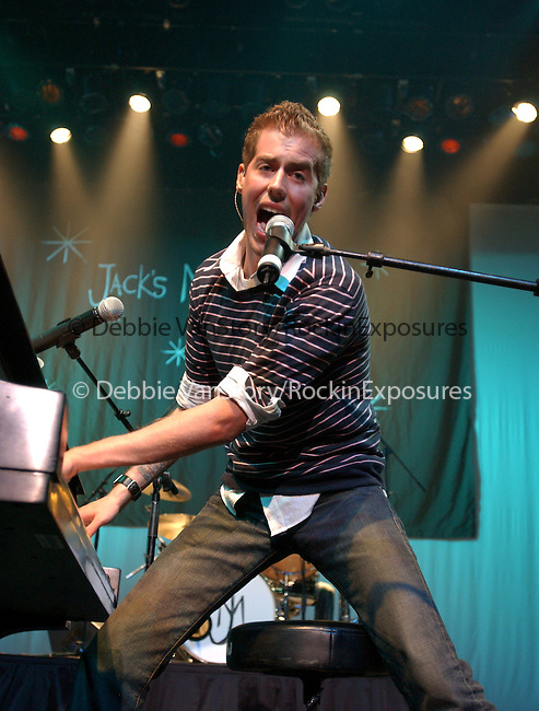 """Andrew McMahon of Jack's Mannequin performs live at The """"Big Event"""" benefiting CHOC Children's Cancer Center.The concert was held at The Grove of Anaheim in Anaheim ,California on April 27,2006.Copyright 2006 by RockinExposures"""