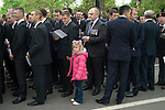 Combined Cavalry Old Comrades Association and parade Hyde Park London UK. Father and daughter. 2012