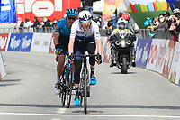 20th April 2021; Cycling Tour of the Alps Stage 2, Innsbruck, Feichten Im Kaunertal Austria; Daniel Martin ISRAEL SUN comes to the finish line