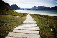 Lofoten, 20110815. Foto: Eirik Helland Urke