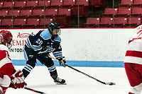 BOSTON, MA - JANUARY 04: Vendula Pribylova #28 of University of Maine takes a shot during a game between University of Maine and Boston University at Walter Brown Arena on January 04, 2020 in Boston, Massachusetts.