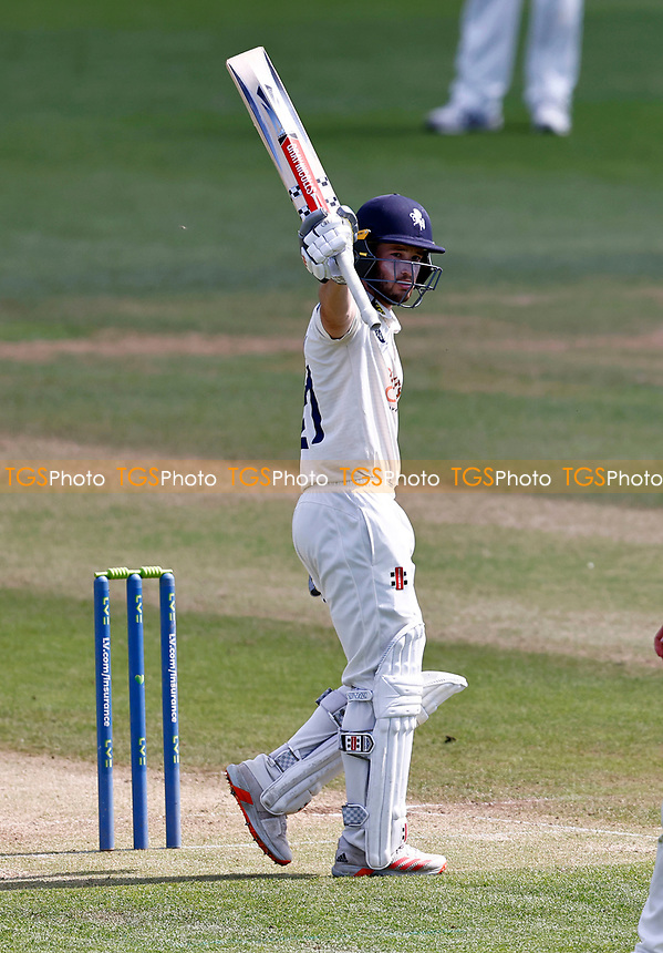 Fifty for Ollie Robinson of Kent during Kent CCC vs Northamptonshire CCC, LV Insurance County Championship Group 3 Cricket at The Spitfire Ground on 5th June 2021