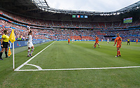 LYON, FRANCE - JULY 07: Ali Krieger during a game between Netherlands and USWNT at Stade de Lyon on July 07, 2019 in Lyon, France.
