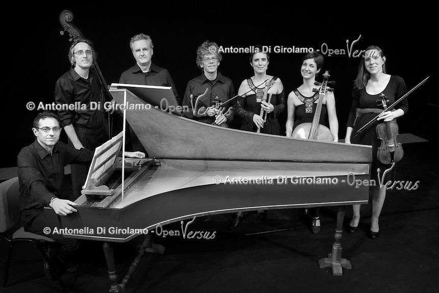 Orchestra Upter Antiqua<br /> concerto d' inaugurazione 28° anno accademico 2015/2016<br /> Teatro Eliseo Roma<br /> Maria De Martini, flauto dolce<br /> Rebeca Ferri, violoncello barocco<br /> Giorgio Sasso, violino,<br /> Ottavia Rausa, violino<br /> Luigi Mangiocavallo, viola<br /> Salvatore Carchiolo, clavicembalo<br /> Luca Cola, contrabasso