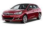 Front three quarter view of a 2013 Citroen C4 Exclusive 5 Door Hatchback 2WD