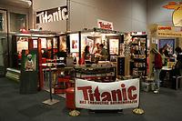 Titanic Stand auf der Buchmesse