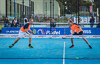 Netherlands, September 6,  2020, Amsterdam, Padel Dam, NK Padel, National Padel Championships, Men's doubles final: -	Berend Boers (NED) and Peter Bruijsten (NED)<br /> Photo: Henk Koster/tennisimages.com
