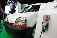 Montreal's AUTO SHOW 2007 feature many Electric cars such as the CLEANOVA 2 uisng the TM4  motor<br /> <br /> <br /> <br /> photo :  Images Distribution