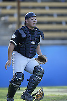 Randall Akasaka of the California State Northridge Matadors in the field during a game against the UCLA Bruins at Jackie Robinson Stadium on January 31, 2003 in Los Angeles, California. (Larry Goren/Four Seam Images)