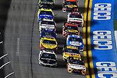 #10: Aric Almirola, Stewart-Haas Racing, Ford Mustang Smithfield and #95: Christopher Bell, Leavine Family Racing, Toyota Camry Procore