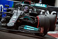 22nd May 2021; Principality of Monaco; F1 Grand Prix of Monaco, qualifying sessions;  HAMILTON Lewis (gbr), Mercedes AMG F1 GP W12 E Performance