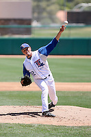 Mike Jefferson, Louisiana Tech, playing against University of Nevada on day two of the Western Athletic Conference tournament at Hohokam Park, Mesa, AZ - 05/27/2010. .Photo by:  Bill Mitchell/Four Seam Images.