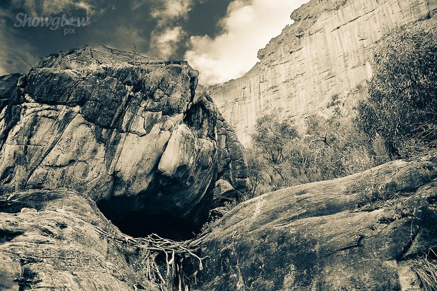 Image Ref: CA755<br /> Location: Mt Stapylton, The Grampians<br /> Date of Shot: 27.01.19