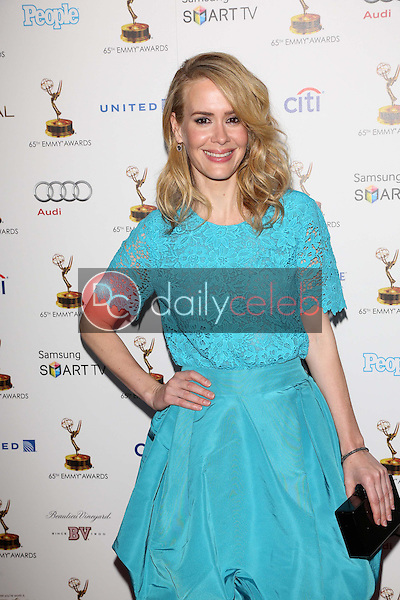 Sarah Paulson<br /> at the 65th Annual Emmy Awards Performers Nominee Reception, Pacific Design Center, West Hollywood, CA 09-20-13<br /> David Edwards/Dailyceleb.com 818-249-4998
