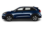 Car Driver side profile view of a 2020 KIA Niro-Plug-In-Hybrid EX-Premium 5 Door Hatchback Side View