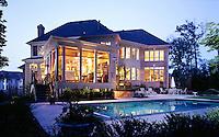 Contemporary home in Northern Virginia.