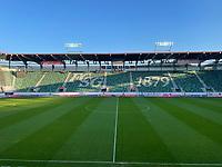 Innenraum des Stadion St. Gallen - St. Gallen 02.09.2021: Lichtenstein vs. Deutschland, WM-Qualifikation, St. Gallen