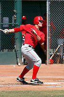 Nick Farnsworth - Los Angeles Angels - 2009 spring training.Photo by:  Bill Mitchell/Four Seam Images