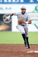 Staten Island Yankees shortstop Cito Culver #2 during a game against the Batavia Muckdogs at Dwyer Stadium on July 28, 2011 in Batavia, New York.  Batavia defeated Staten Island 4-3.  (Mike Janes/Four Seam Images)