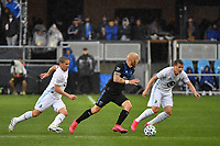 SAN JOSE, CA - MARCH 7: Magnus Eriksson #7 of the San Jose Earthquakes during a game between Minnesota United FC and San Jose Earthquakes at Earthquakes Stadium on March 7, 2020 in San Jose, California.