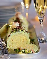 Gastronomie générale: Buche de Noël à la pistache