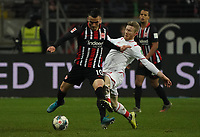 Filip Kostic (Eintracht Frankfurt) gegen Florian Kainz (1. FC Koeln) - 18.12.2019: Eintracht Frankfurt vs. 1. FC Koeln, Commerzbank Arena, 16. Spieltag<br /> DISCLAIMER: DFL regulations prohibit any use of photographs as image sequences and/or quasi-video.