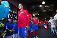 CARSON, CA - FEBRUARY 1: David Guzman #20 of Costa Rica during a game between Costa Rica and USMNT at Dignity Health Sports Park on February 1, 2020 in Carson, California.
