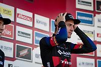 Toon Aerts (BEL/Baloise Trek Lions) winning the Elite Men's Race <br /> <br /> 2021 UCI cyclo-cross World Cup - Zonhoven (BEL)<br /> <br /> ©kramon
